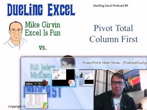 Mr Excel & excelisfun Trick 89: PivotTables Grand Totals To Left: LOOKUP or GETPIVOTDATA function?