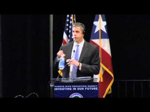 Secretary Arne Duncan  - Closing Remarks and Questions - Puerto Rico Education Summit