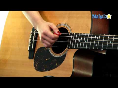 Learn Guitar: How to Hold a Pick