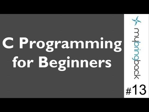 Learn C Programming Tutorial 1.13 Input Scanf
