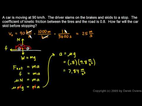 Physics 4.7.4a - Friction Practice Problems 1 - 2