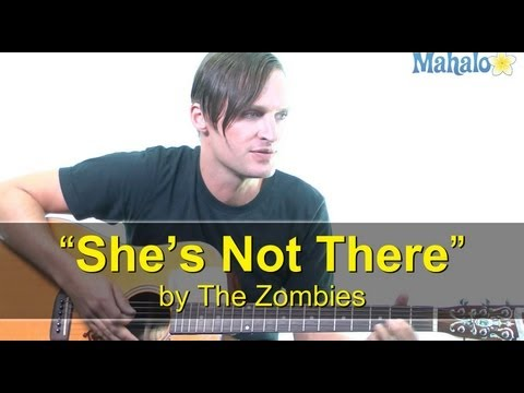 "How to Play ""She's Not There"" by The Zombies on Guitar"