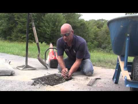 How to Patch A Hole In your Driveway / Blacktop
