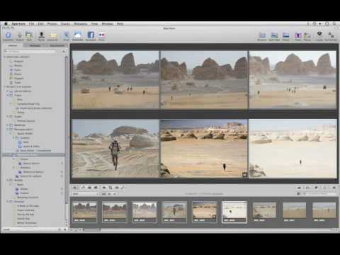 Aperture 3 Tutorials : 4.1 - Compare and Select - Making Multiple Selections