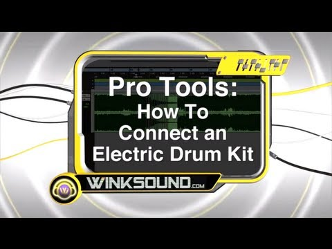 Pro Tools: How To Connect an Electric Drum Kit
