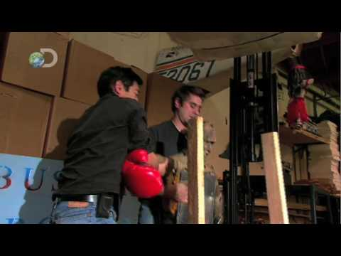 MythBusters - Knock Your Socks Off - Last Minute Change