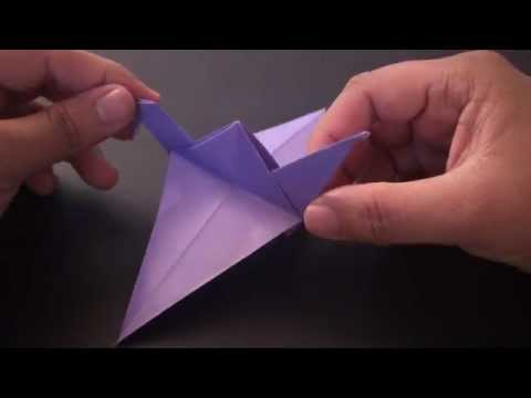 Origami Daily - 169: Easy Bird - TCGames [HD]