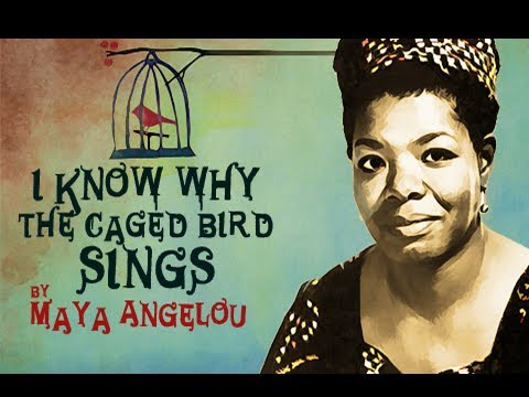 I Know Why The Caged Bird Sings by Maya Angelou - Poetry Reading