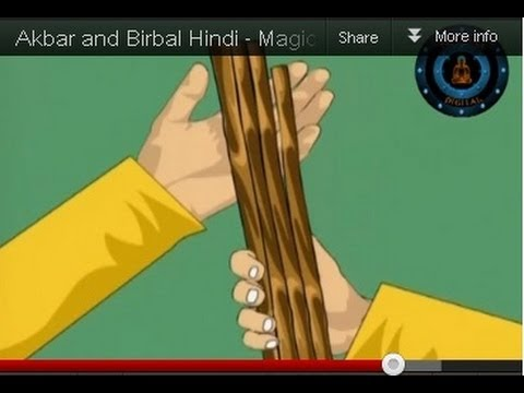 Akbar and Birbal Hindi - Magic Stick - Vol 3