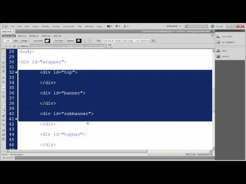 4 - Dreamweaver Project 2 - OurTown Country Market.mp4