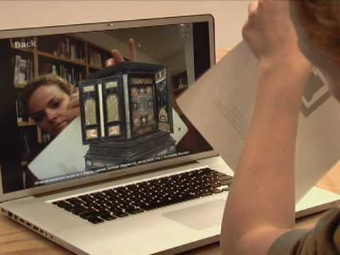 The Getty Museum's Augmented Reality Demo