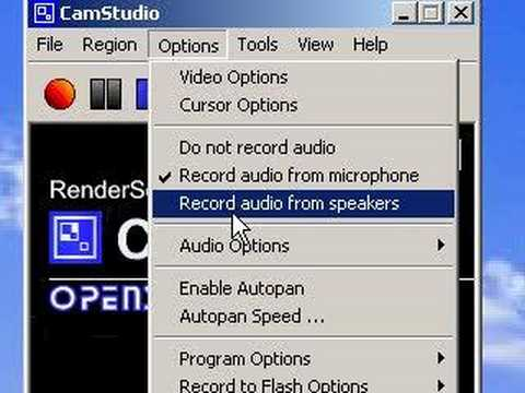 Using Camstudio to Screen Record Video Tutorials