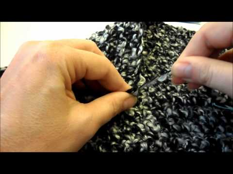 How to Crochet A Ponchini - An Easy Project