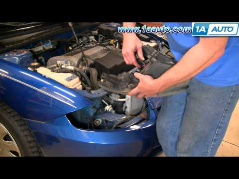 How To Install Replace Headlight and Bulb Chevy Cavalier 03-05 1AAuto.com
