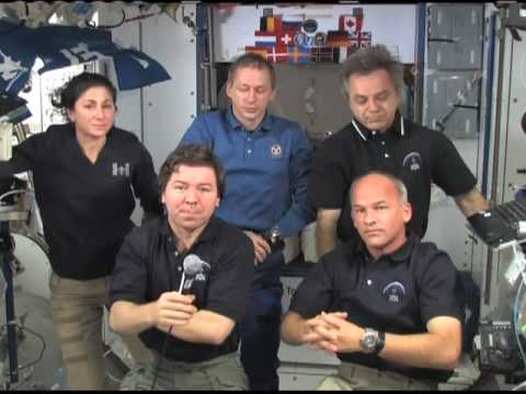Reporters Interview Space Station Crews 100809