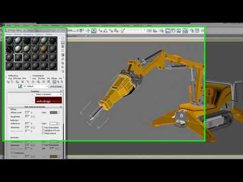 Autodesk Inventor Import Improvements — 3ds Max Design 2011 New Features