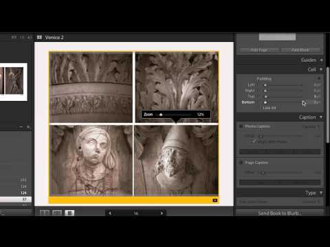 Lightroom 4 Beta: Modifying Book Layouts
