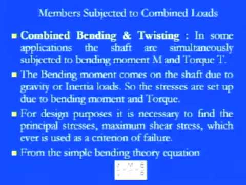 Lec-34 Strength of Materials