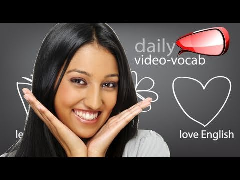 Daily  Vocabulary and phrases E11  | Spoken English  ESL lesson, Pronunciation & Accent