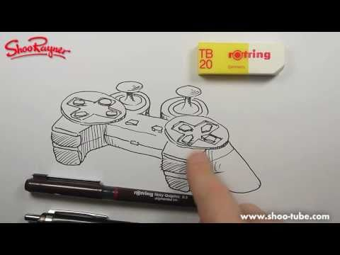 How to draw a Playtstation Controller