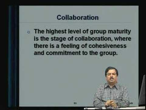 Lecture - 32 Group Dynamics - I