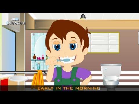 Edewcate english rhymes - Brush your teeth
