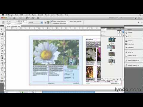 How to mix page sizes in InDesign | lynda.com tutorial