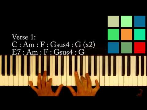 "How To Play ""Mi Corazón Insiste"" Piano Tutorial (Jencarlos Canela)"