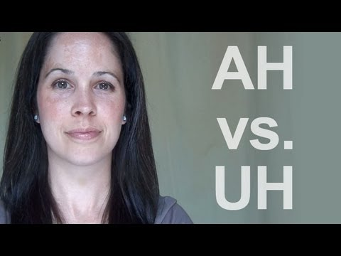 How to Pronounce AH vs UH: American English
