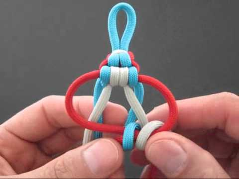 How to Make a Webbed Endless Falls Key Fob by TIAT