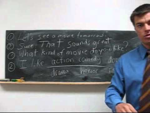 Learn English Study Lesson 54 - What did you do? I saw a movie