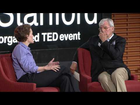 TEDxStanford - Tom & Jennifer Brokaw - A daughter to father heart-to-heart