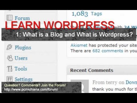 What is a Blog and What is Wordpress? - Ep. 1