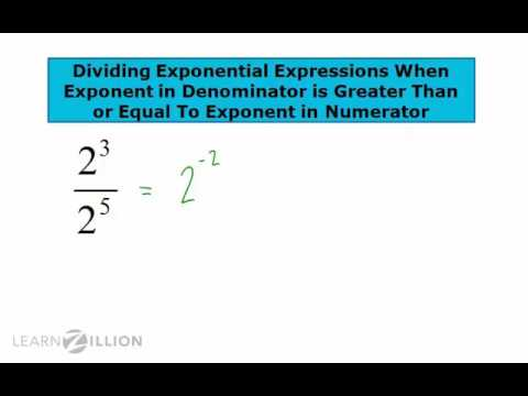 Divide exponential expressions part 2 - 8.EE.1