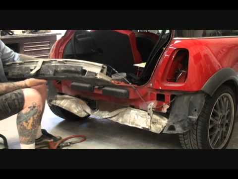 How To Remove A Car Bumper-Impact Bar-Auto Collision Repairs