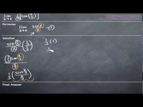 Limits - Trigonometric Ex 5