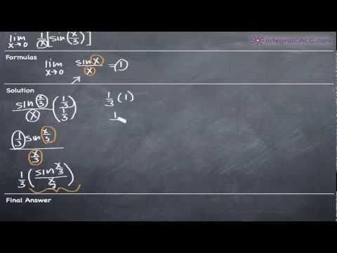 Limits - Trigonometric Ex 5
