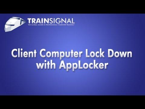 AppLocker to Lock Down Client Computers