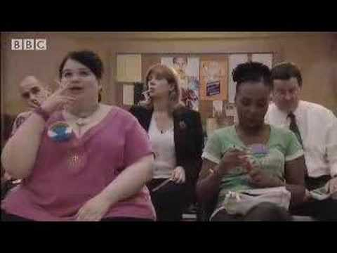 Quitting smoking - The Smoking Room - BBC comedy