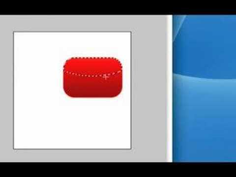 IceflowStudios Design Training - Creating the YouTube Logo | Web 2.0 Style!