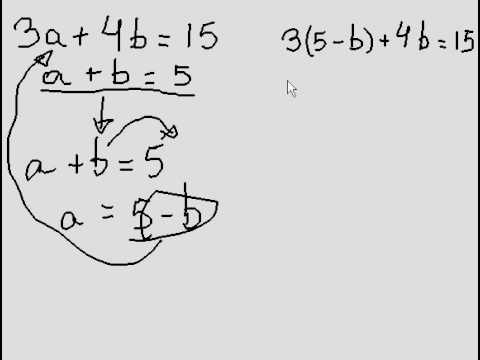 Systems of Equations - 2 variables (easy question) #2