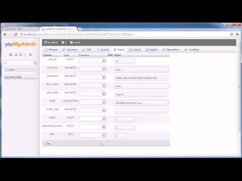 PHP Tutorials: Register & Login (Part 20): Admin Account
