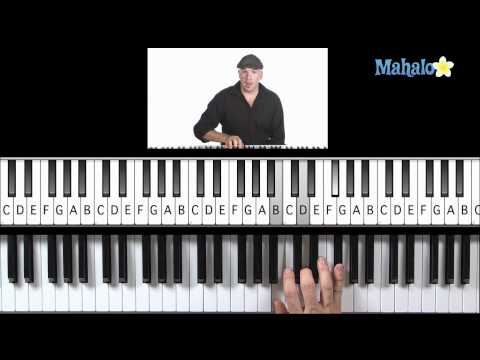Learn Piano HD: How to Play ii, iii, vi Progression (Right Hand) in G on Piano