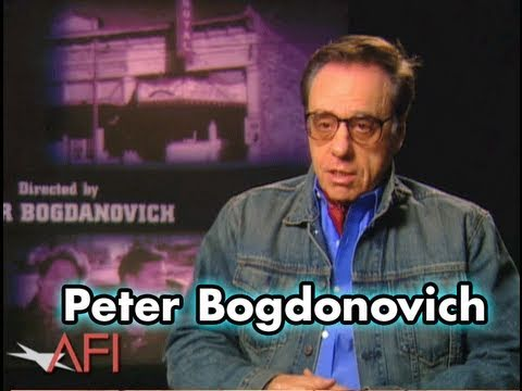 Peter Bogdonovich On Orson Welles and Black & White Film