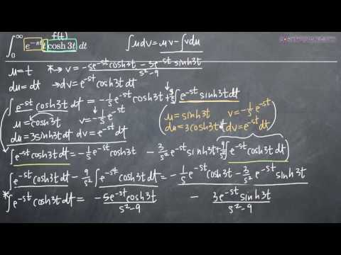 Laplace Transforms and Integration by Parts with Three Functions