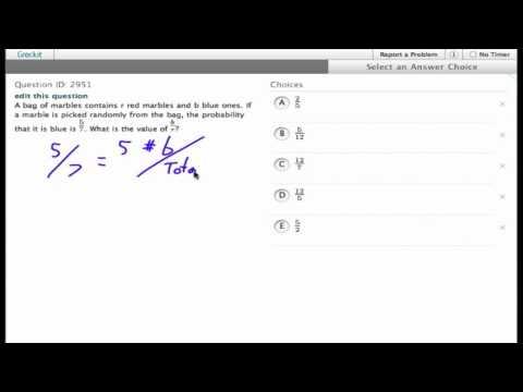 Grockit SAT Math - Multiple Choice: Question 2951