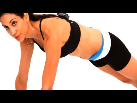 How to Do Planks with a Bosu Ball | Exercise Ball Workout
