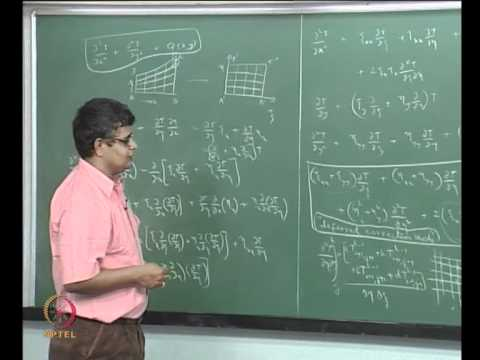 Mod-07 Lec-41 Transformation of the governing equations; Illustration for the Laplace equation