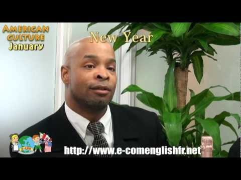 E-com English Monthly Videocast January - American Culture