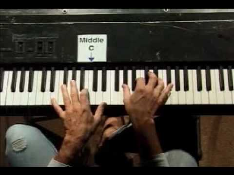 Piano Lesson - 7 Chords For The Key Of A Major